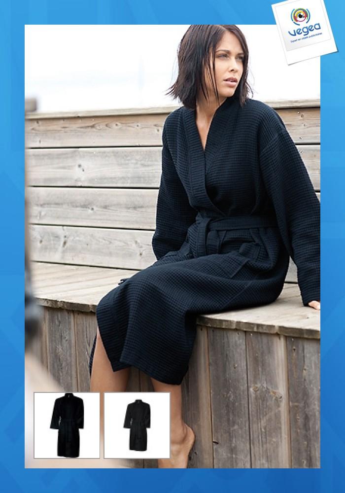Peignoir personnalisé kimono kariban