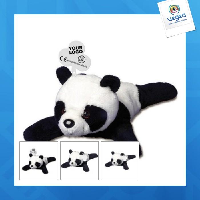Peluche avec personnalisation  panda