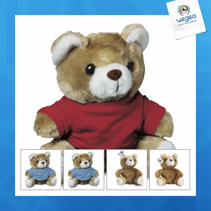 Peluche personnalisable ours