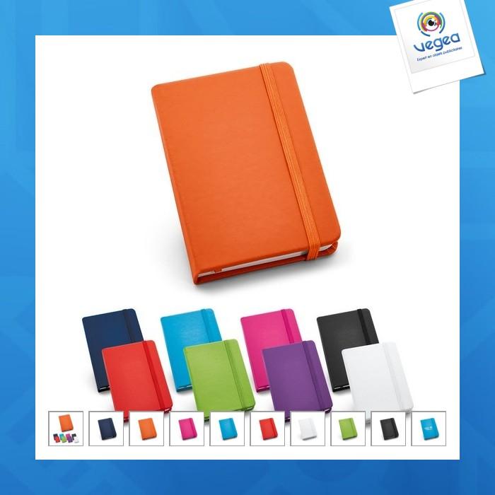 Petit carnet a6 coloré