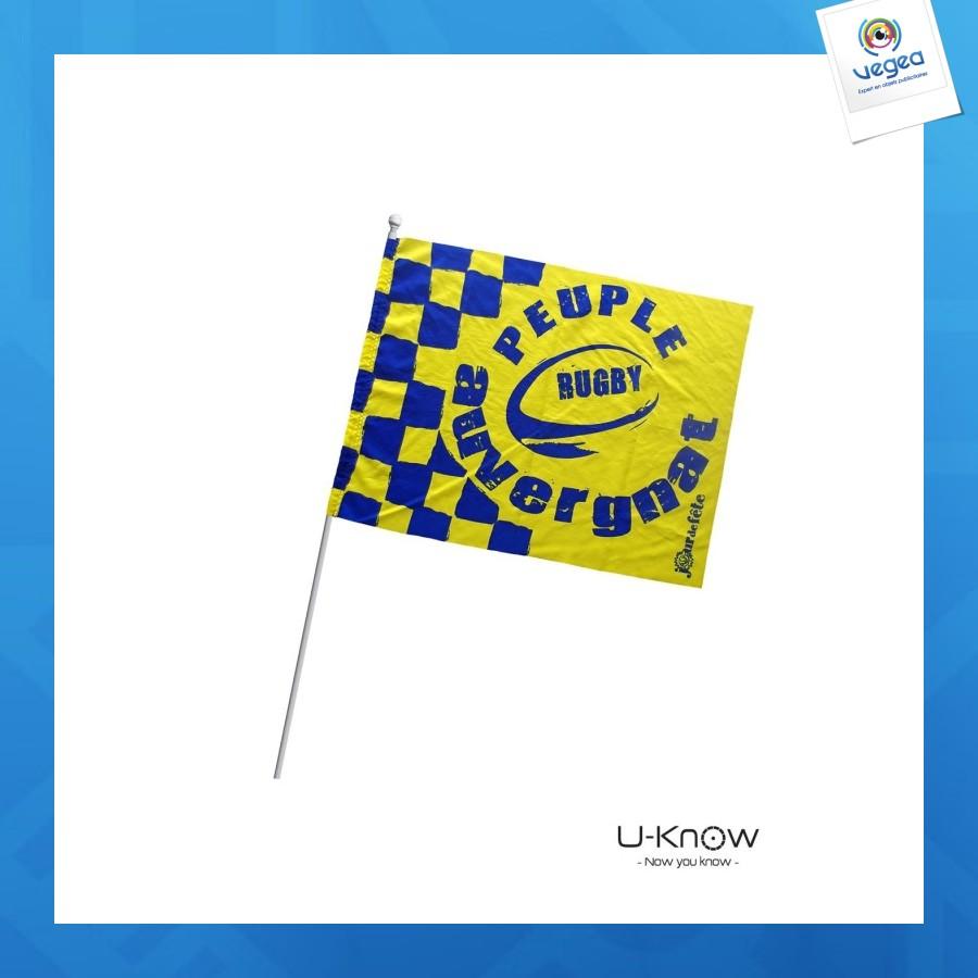 Petit drapeau personnalisable en tissu a5