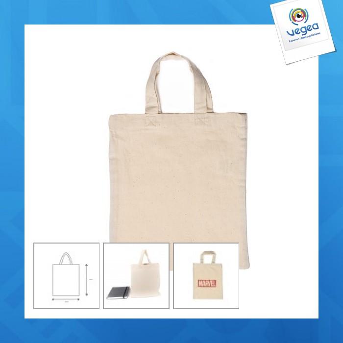 Petit sac coton 22x26cm express 48h