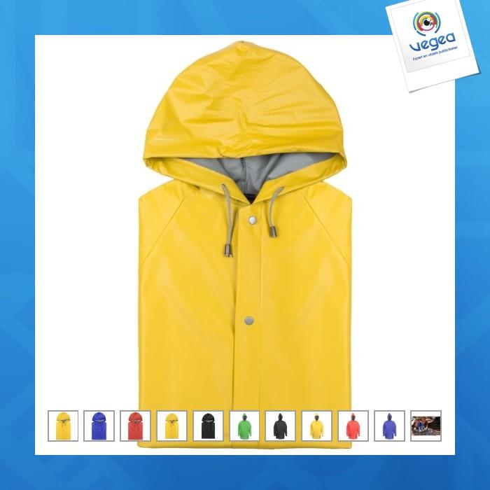 Piel de aceite marino / chaqueta para la lluvia