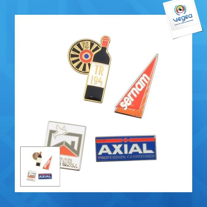 Pin's publicitaire  métal premium