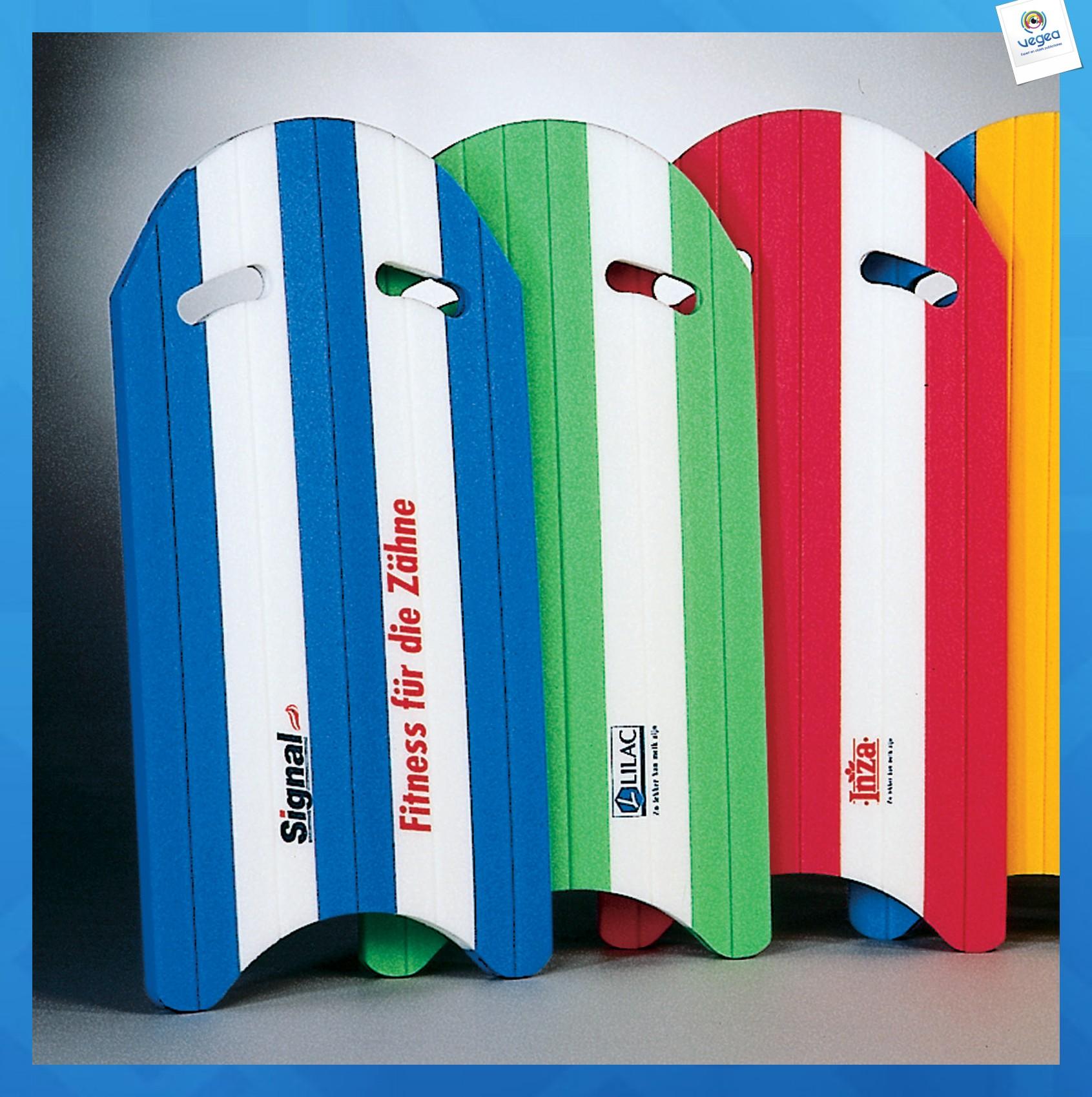 Planche de natation publicitaire