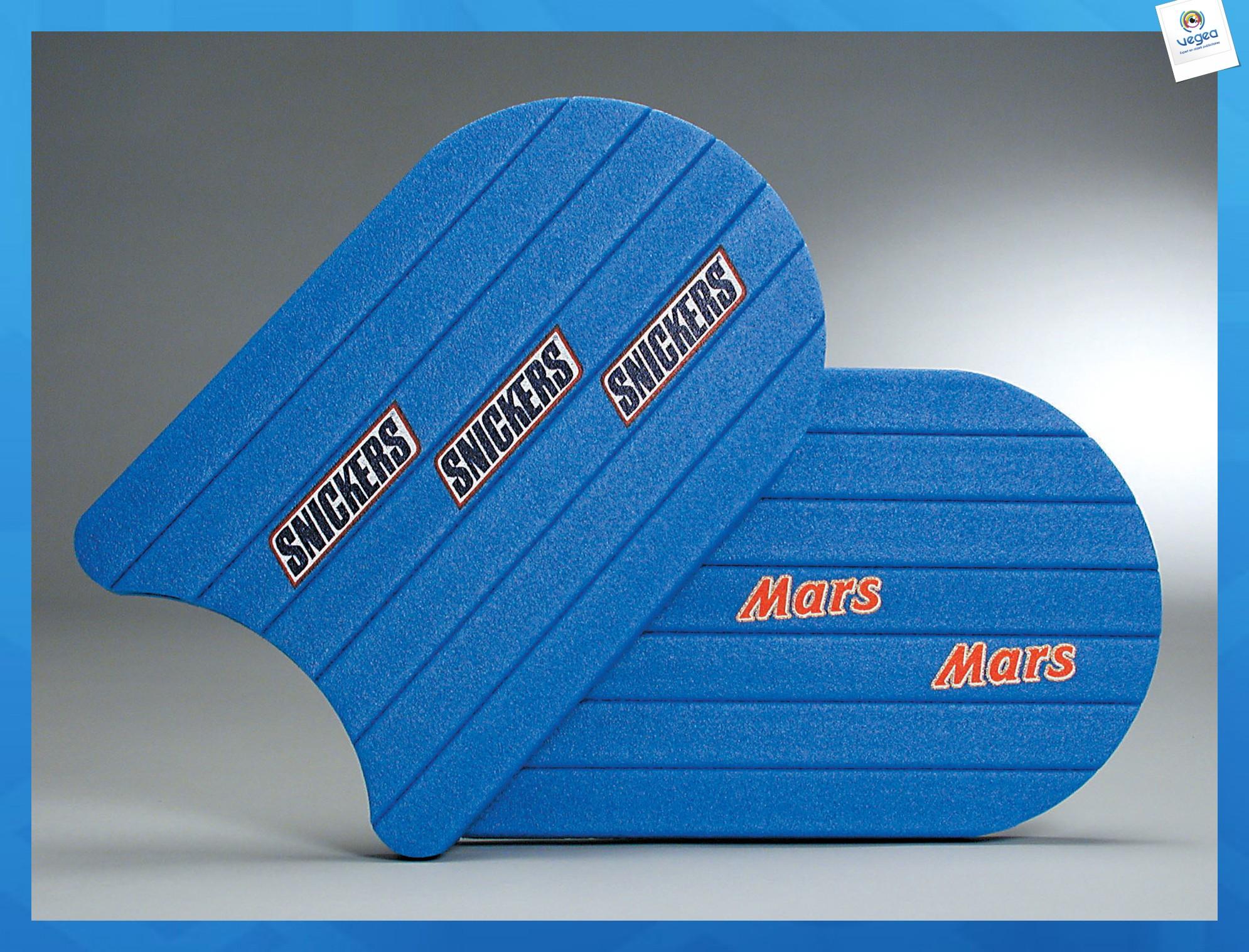 Planche de natation personnalisable