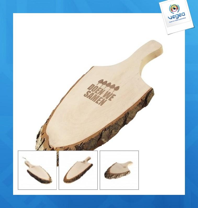 Planche écorce avec poignée - grand format