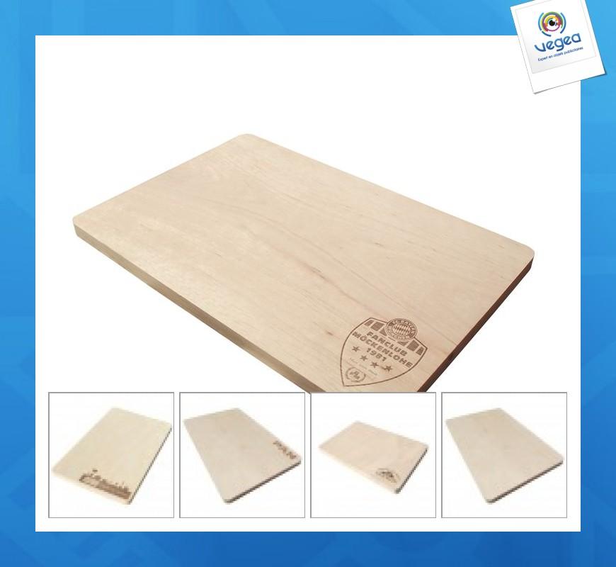 Planche square 29x19cm