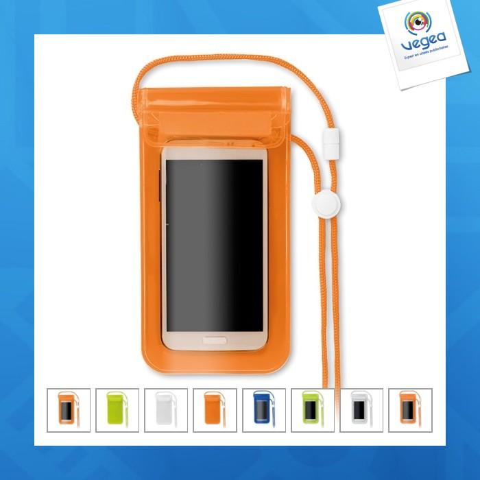 Pochette waterproof smartphone personnalisable