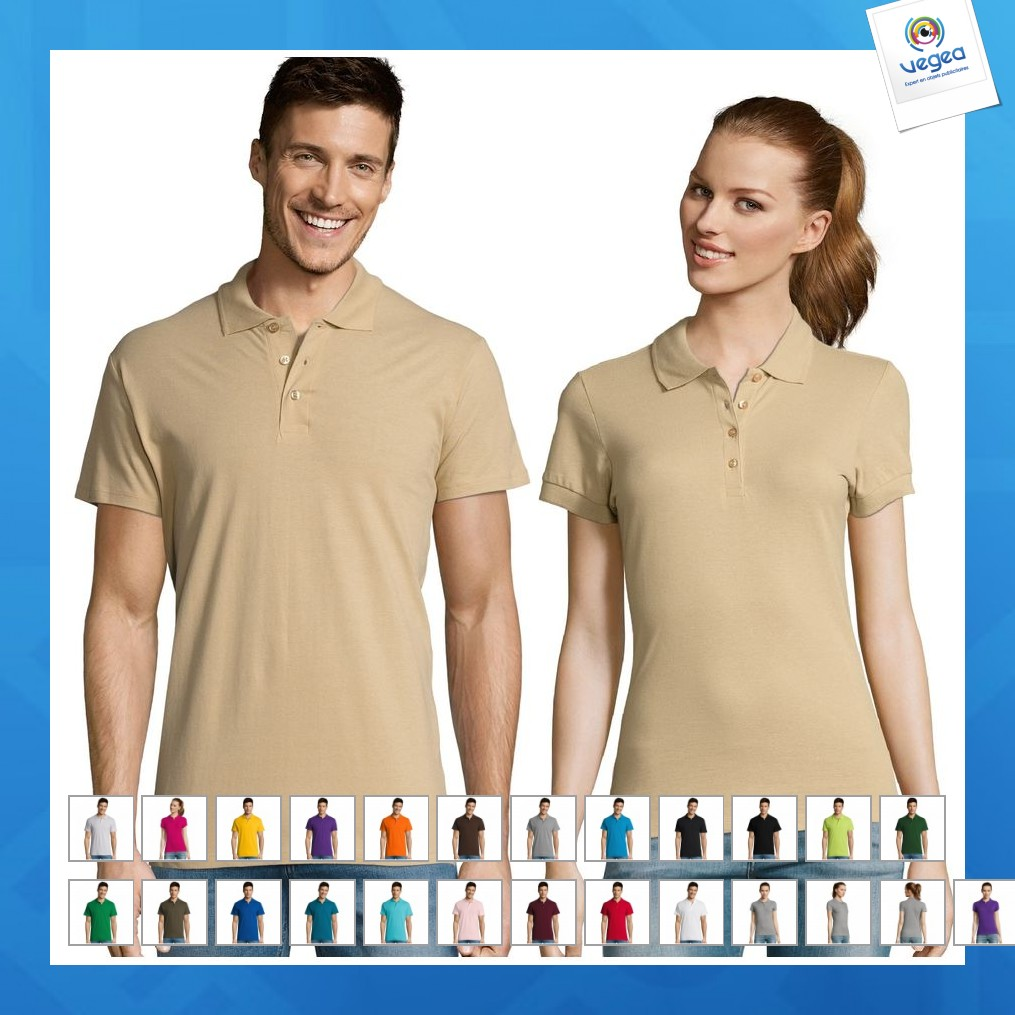 Polo personnalisable  - summer ii - 11342c