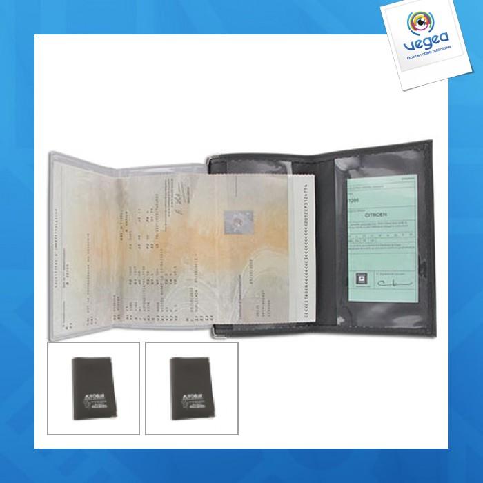 Porte carte grise personnalisable 00019v0059245 partir de 1 68 euros ht - Bureau des cartes grises ...