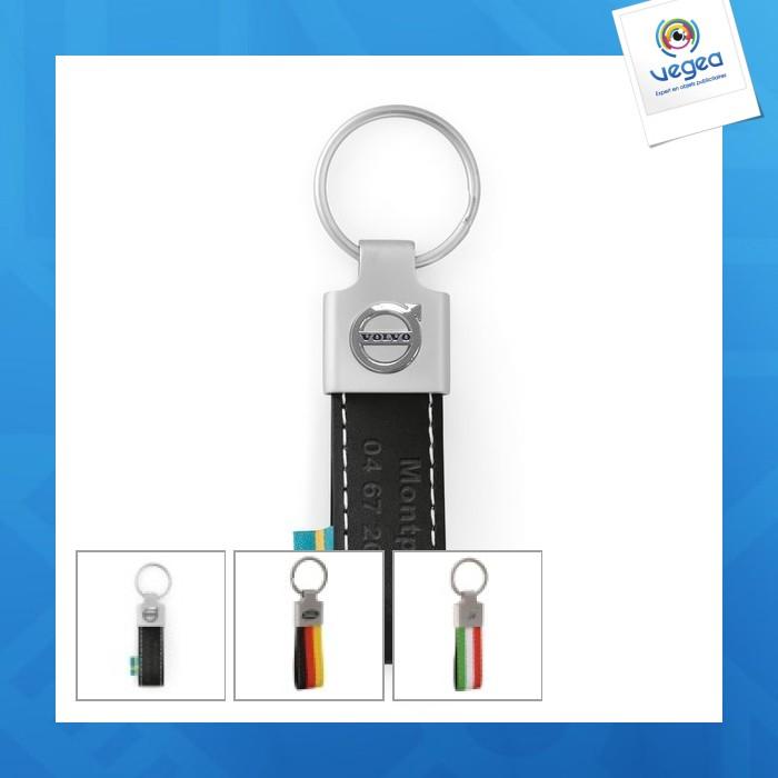 Porte-clés publicitaire  cuir