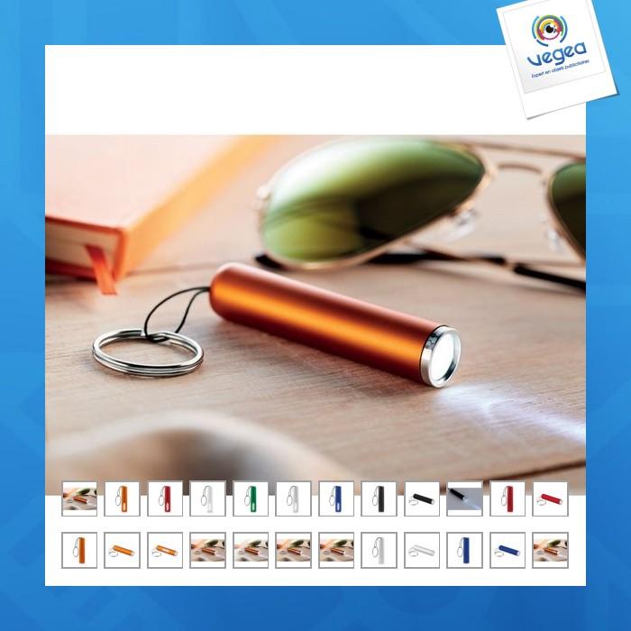 Porte-clés lampe personnalisable avec logo lumineux