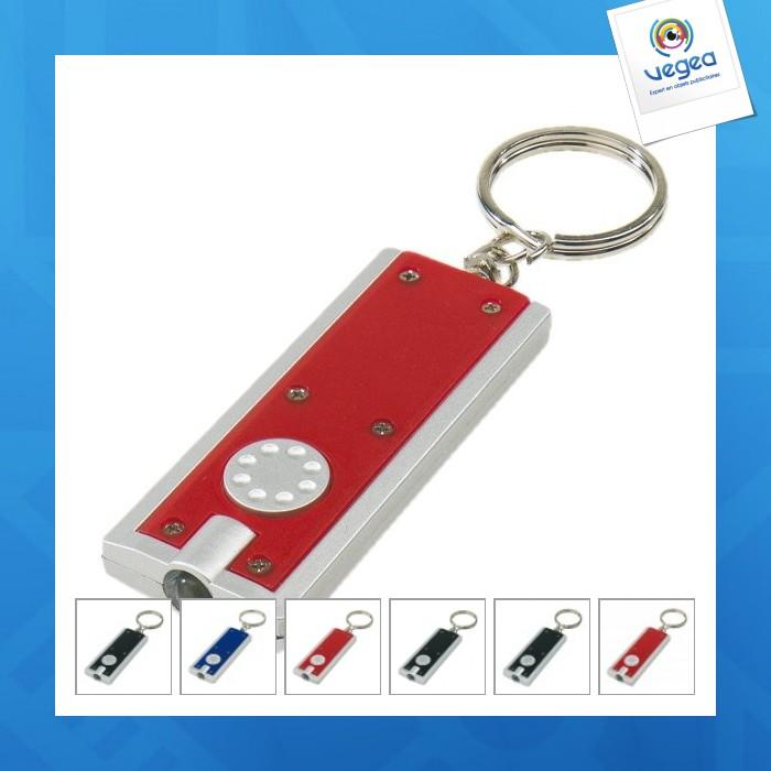Porte-clés led rectangulaire