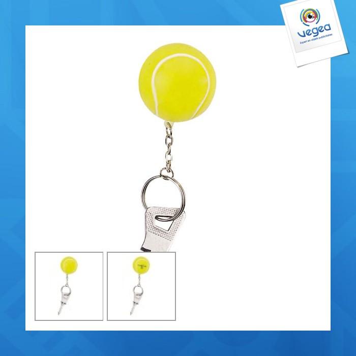 Porte-clés squeeze tennis