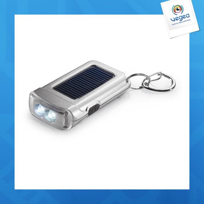 Porte-clés torche solaire ringal
