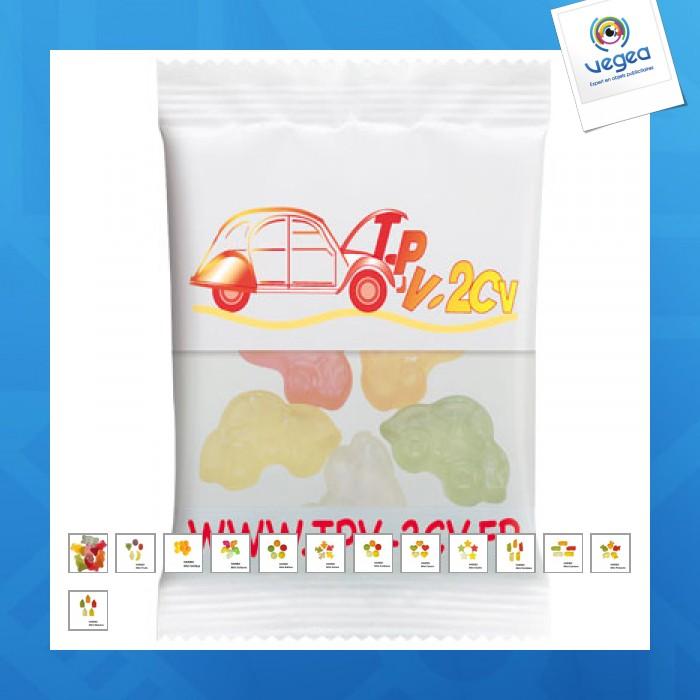 Sachet de bonbons haribo personnalisables 20g