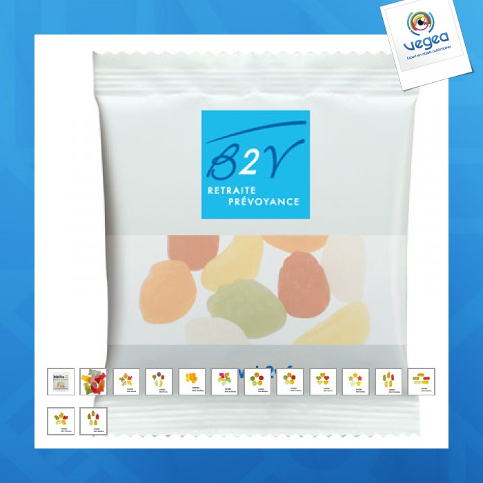 Sachet de bonbons haribo publicitaire  6,5g