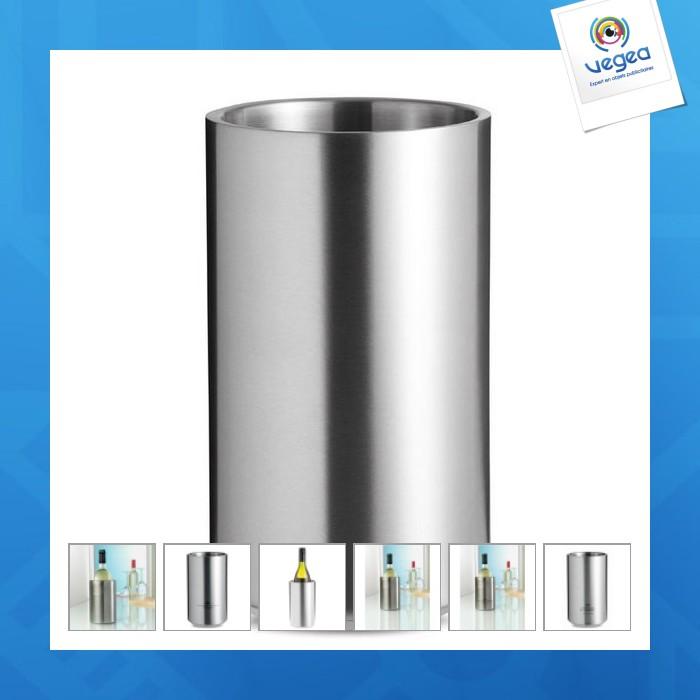 Seau à vin isotherme personnalisable en métal