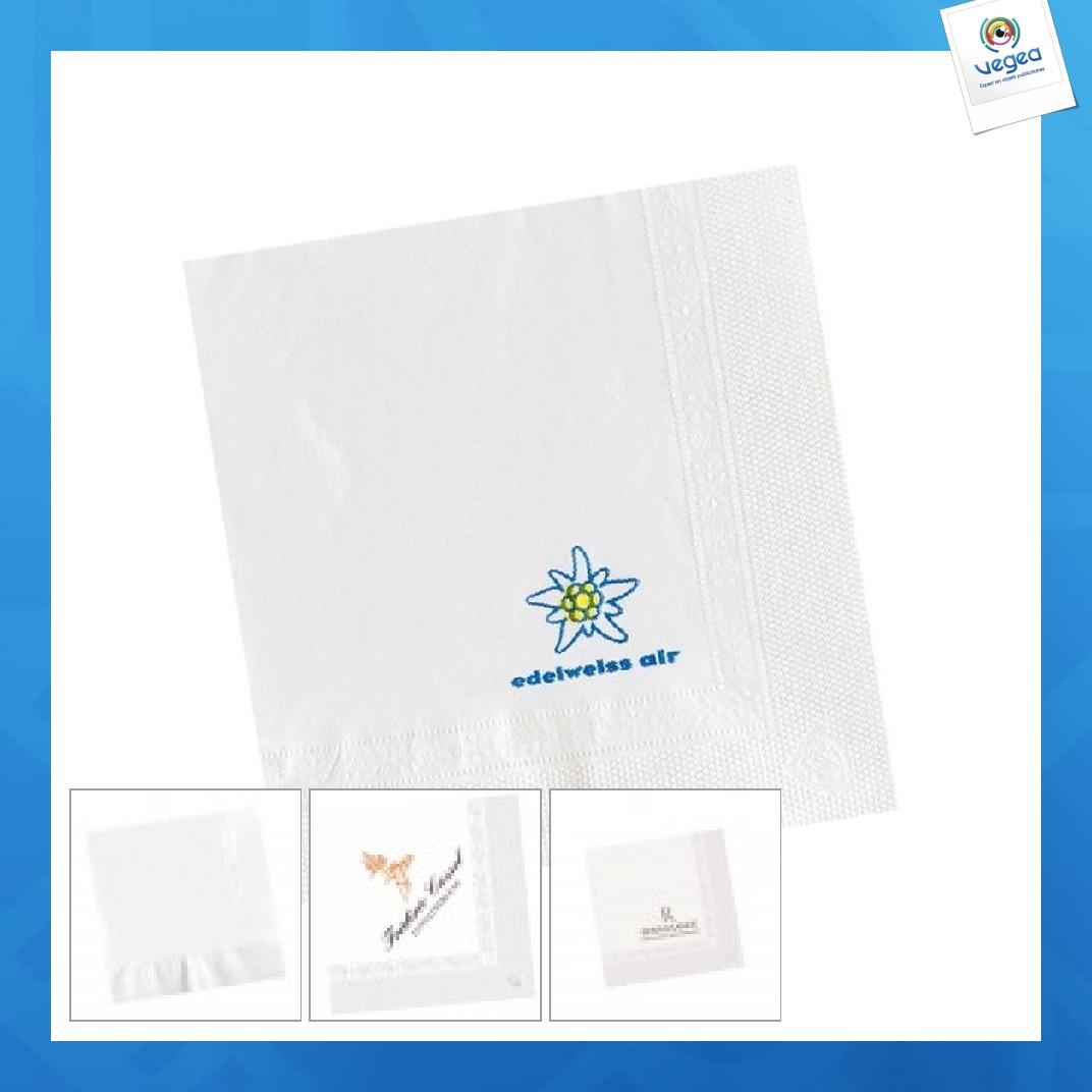 Servilleta de papel de promoción de cóctel 25x25cm (por mil)