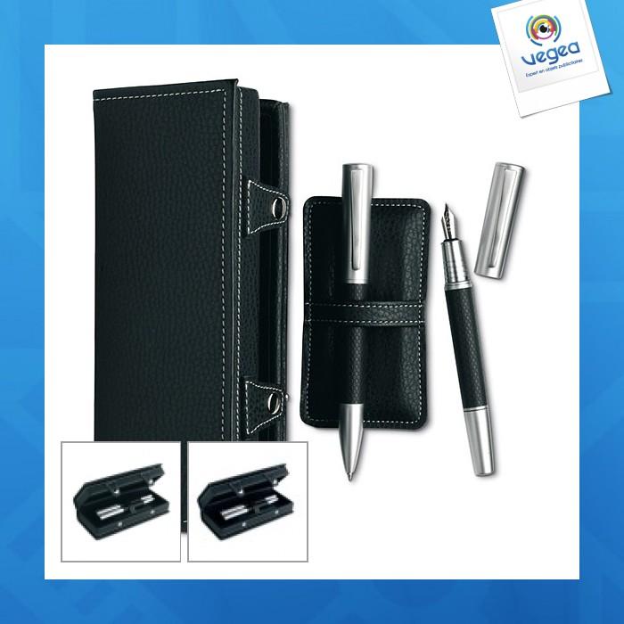 Set stylo bille et plume grando