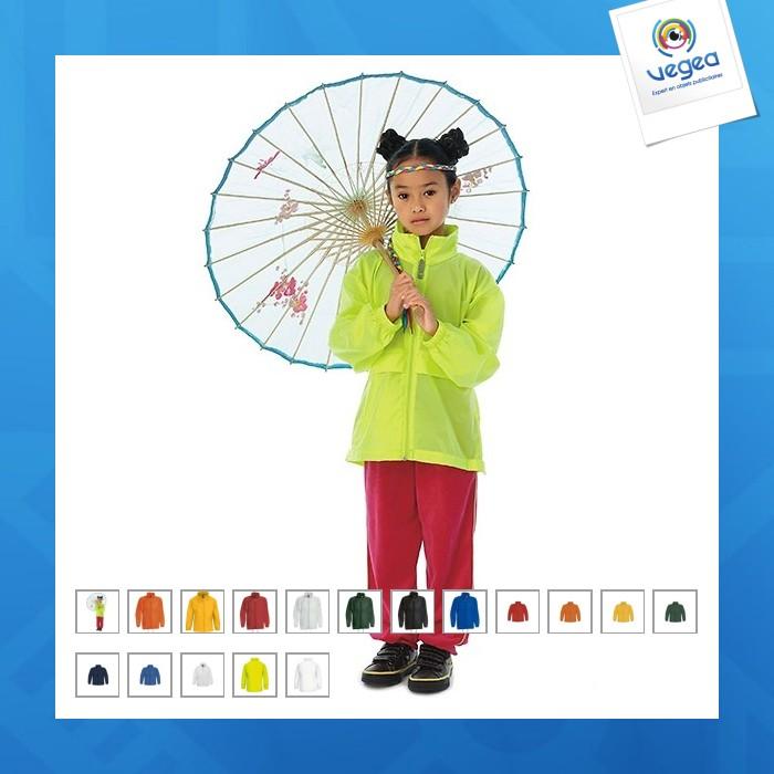 Sirocco b&d unlined children's windcheater b&d