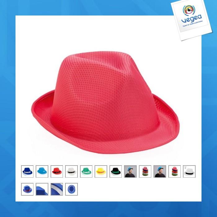 Sombrero de promoción sintético braz