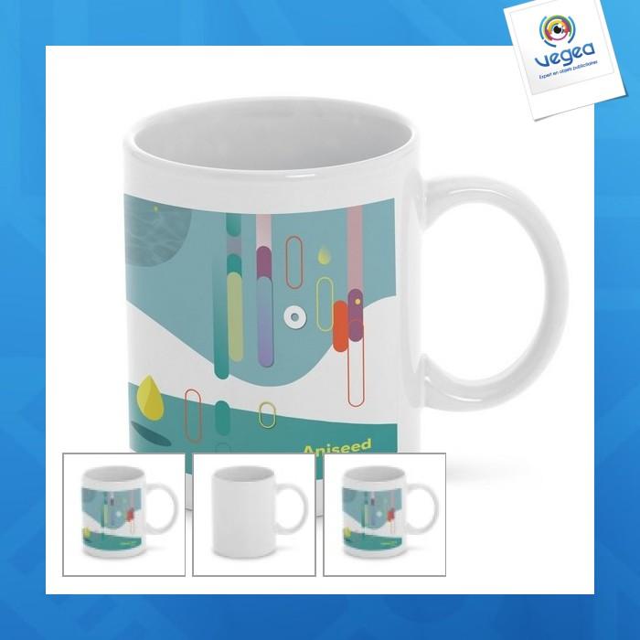 Standard four-colour mug