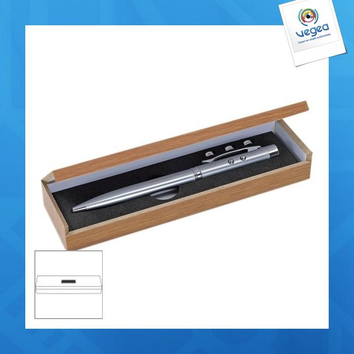 Stylo Bille Avec Pointeur Laser Publicitaire Personnalise Et Lampe