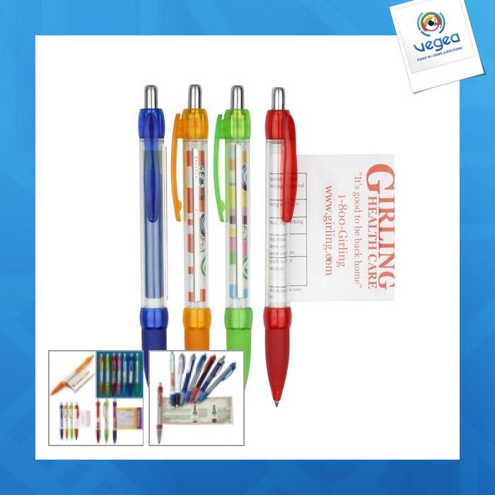 Stylo drapeau / stylo bannière personnalisable