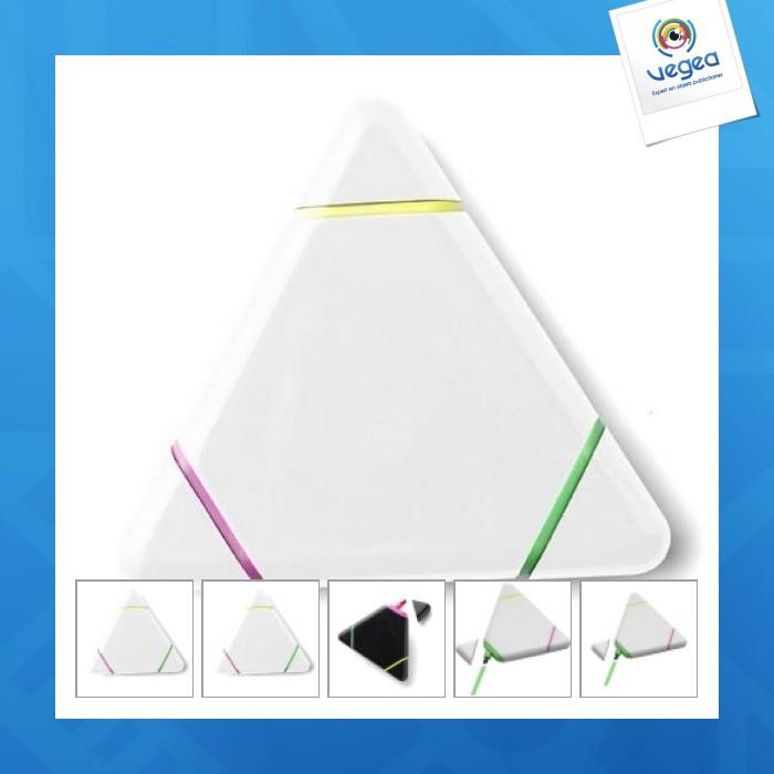 Surligneur publicitaire triangulaire