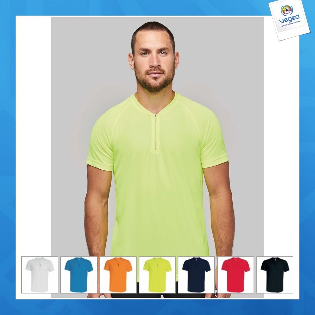 fournisseur officiel choisir authentique prix plancher T-shirt 1/4 zip sport