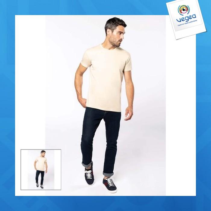 T-shirt bio léger 140g