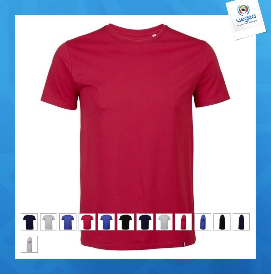 T-shirt classique logoté 150g made in france