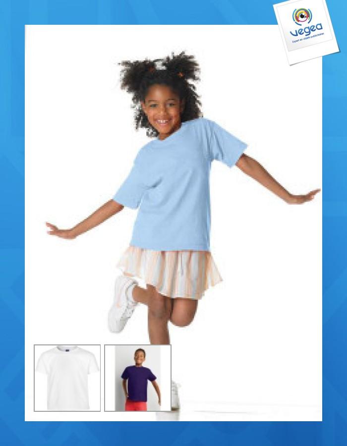 T-shirt enfant gildan