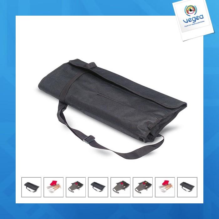 Tablier gants et outils barbecue