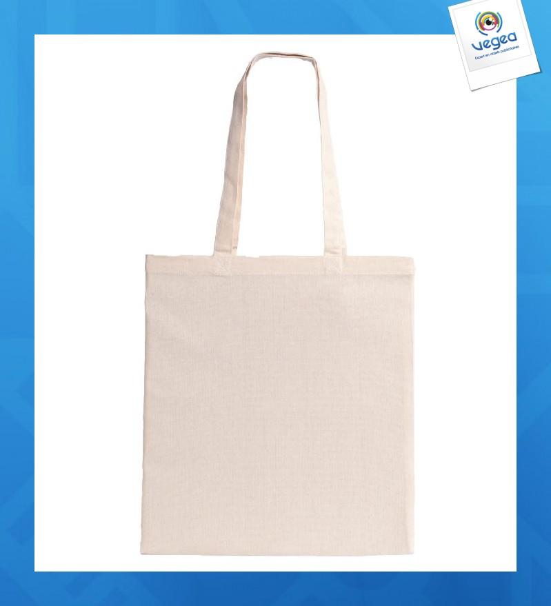 Tote bag personnalisé épais en coton 220g