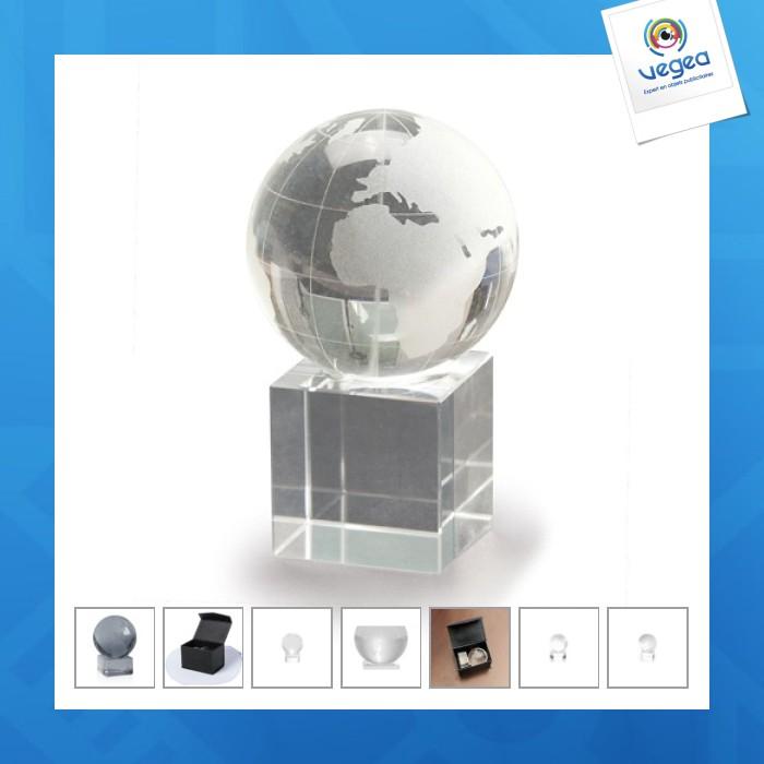 Trophée sphère world