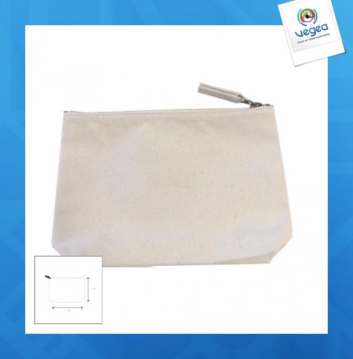 Trousse coton soufflet 23x15cm express 48h