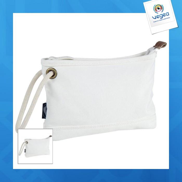 Trousse de toilette en coton lourd