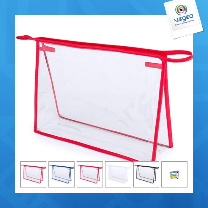 Trousse de toilette personnalisée  transparente