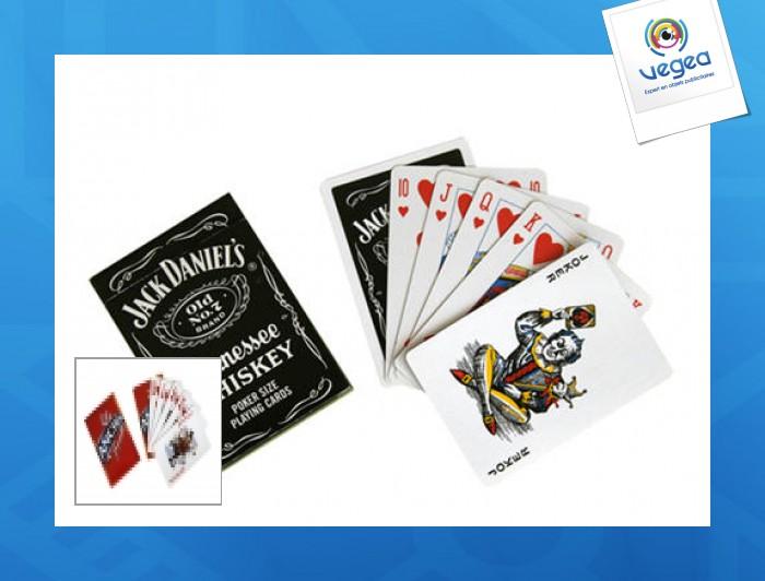 Un juego de 52 tarjetas estándar totalmente personalizadas