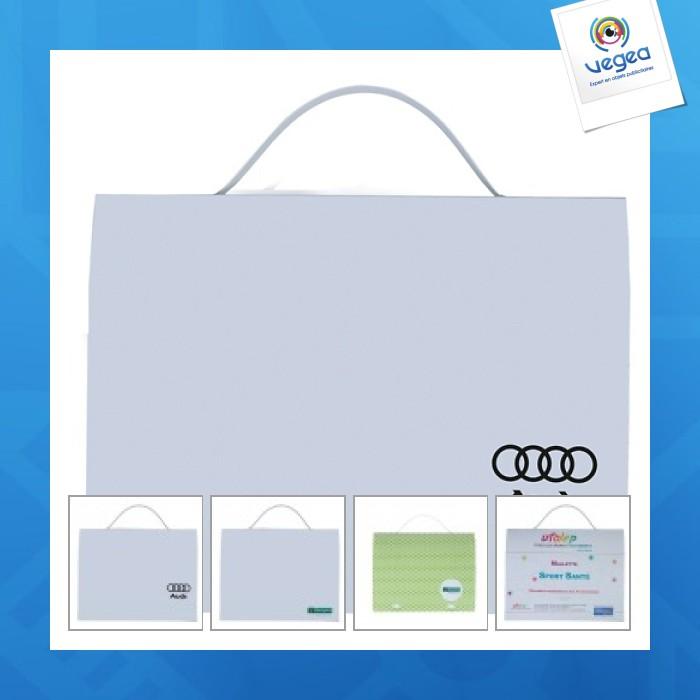 Valisette publicitaire personnalisée  en plastique souple