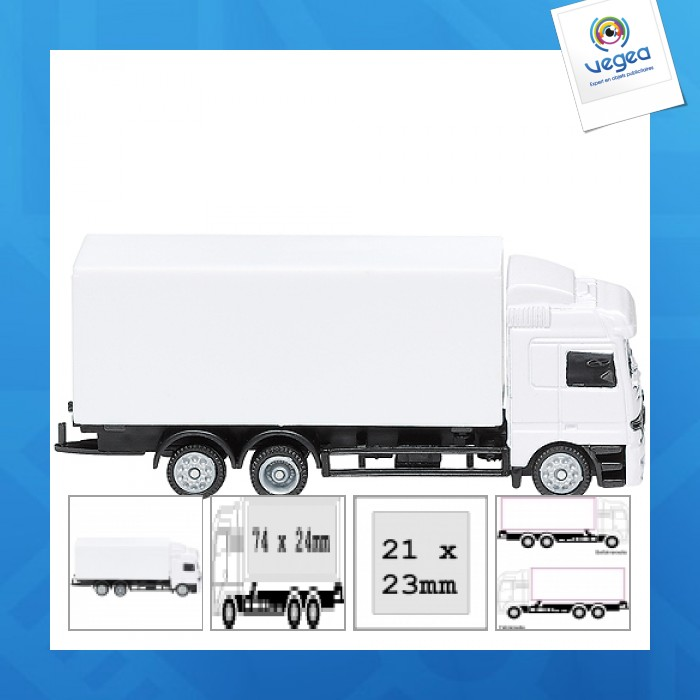 Véhicule miniature mercedes truck mini