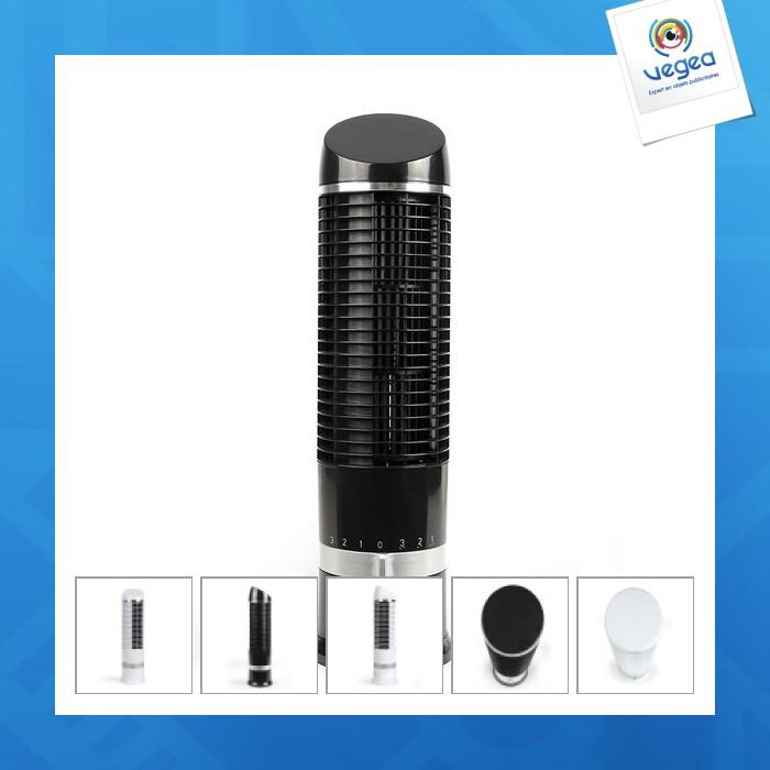 Ventilateur de table personnalisé colonne