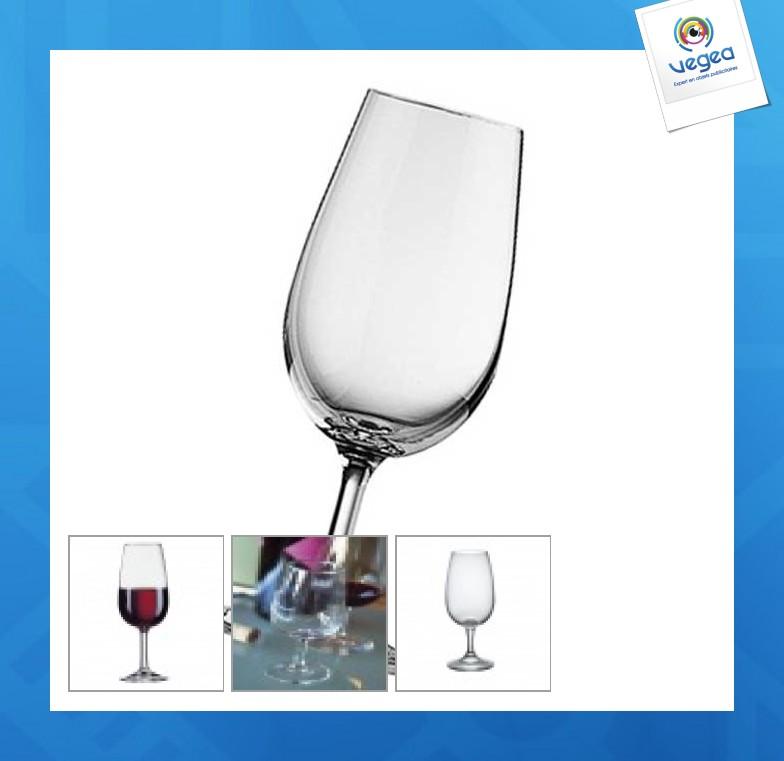 Verre à vin personnalisable  inao