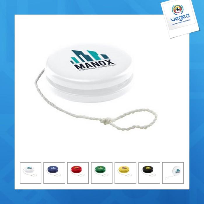 Yo-yo personnalisable  en plastique